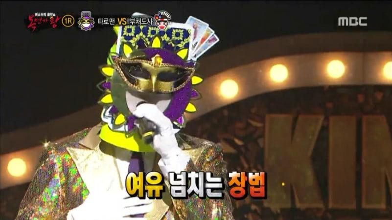"""Popular cantante de R&B hipnotiza a la audiencia de """"King Of Masked Singer"""" con una voz impresionante"""