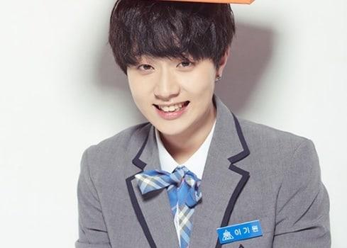 """Lee Ki Won, otro participante de """"Produce 101 Season 2"""", es criticado por usar las redes sociales para influenciar votos"""