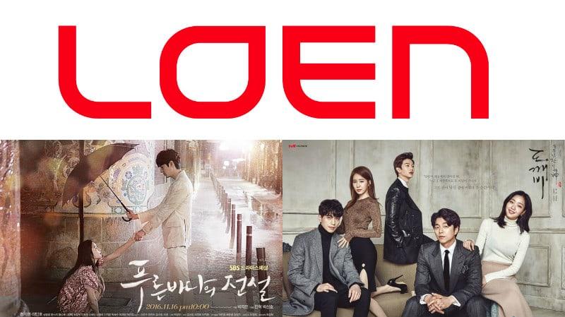Loen Entertainment crea una nueva compañía de producción de dramas con Studio Dragon