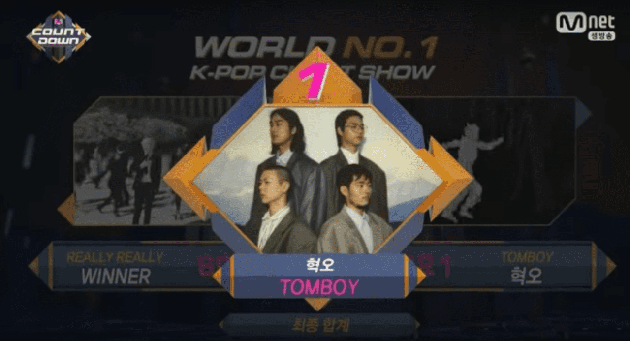 """Hyukoh consigue su primera victoria con """"TOMBOY"""" en """"M!Countdown"""", actuaciones de """"Produce 101 Season 2"""", Triple H, Lovelyz y más"""