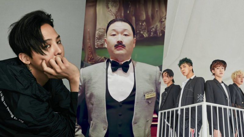 Los artistas de YG Entertainment dominan exitosamente las listas musicales en esta primavera