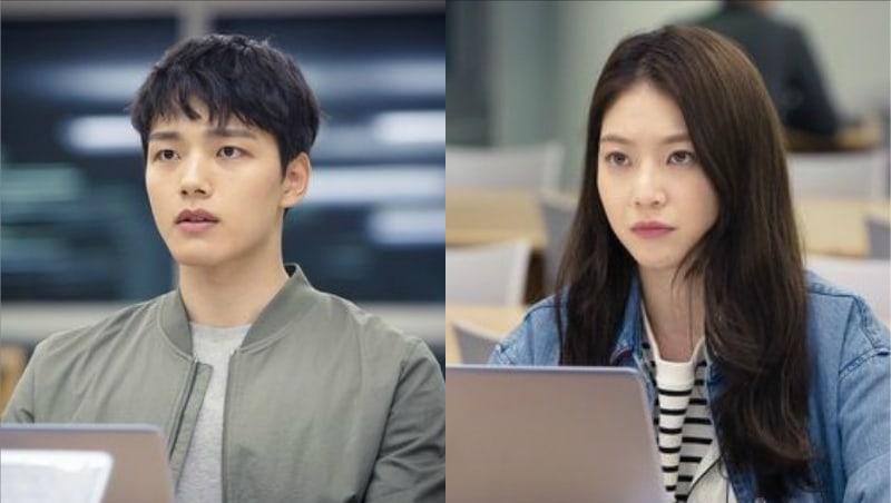 """El próximo drama de tvN, """"Circle"""", lanza intrigantes imágenes de Yeo Jin Goo y Gong Seung Yeon"""
