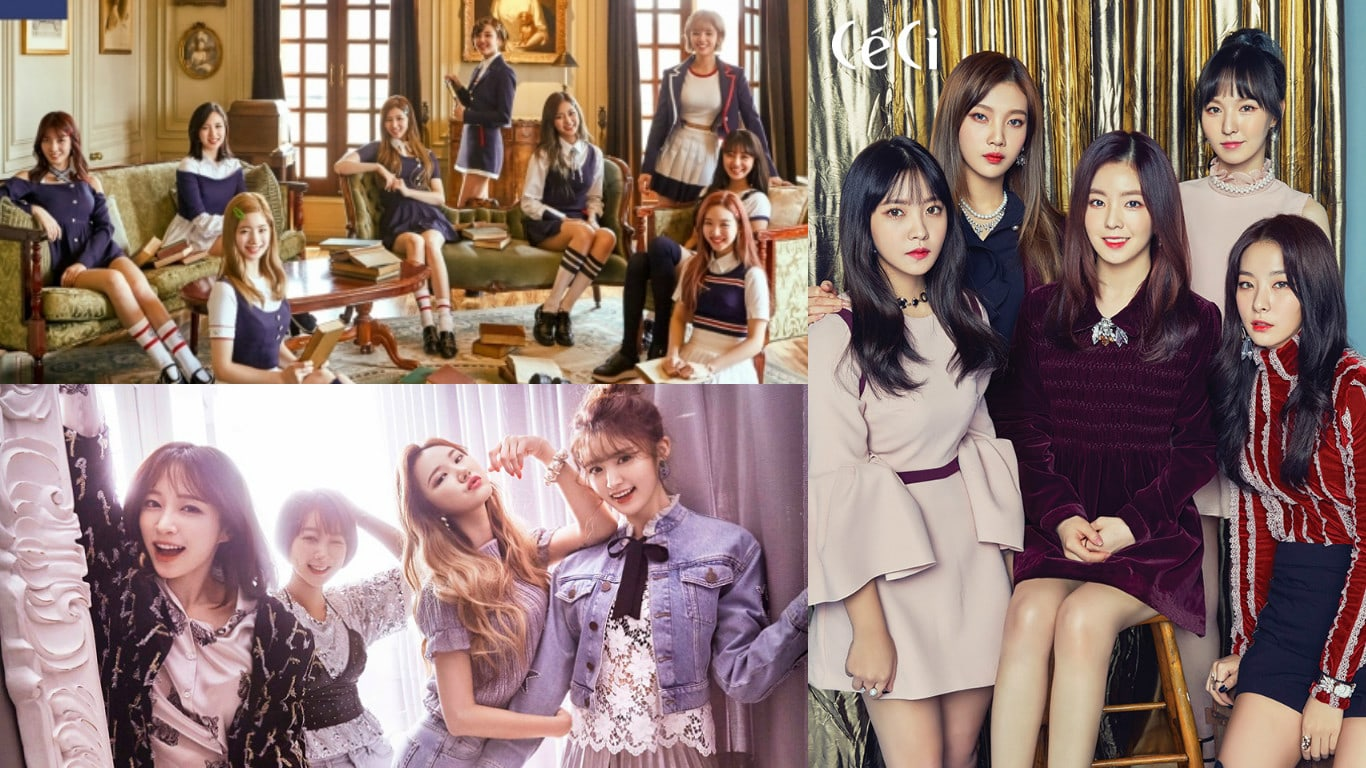 Revelados los rankings de reputación de marca de grupos femeninos de mayo