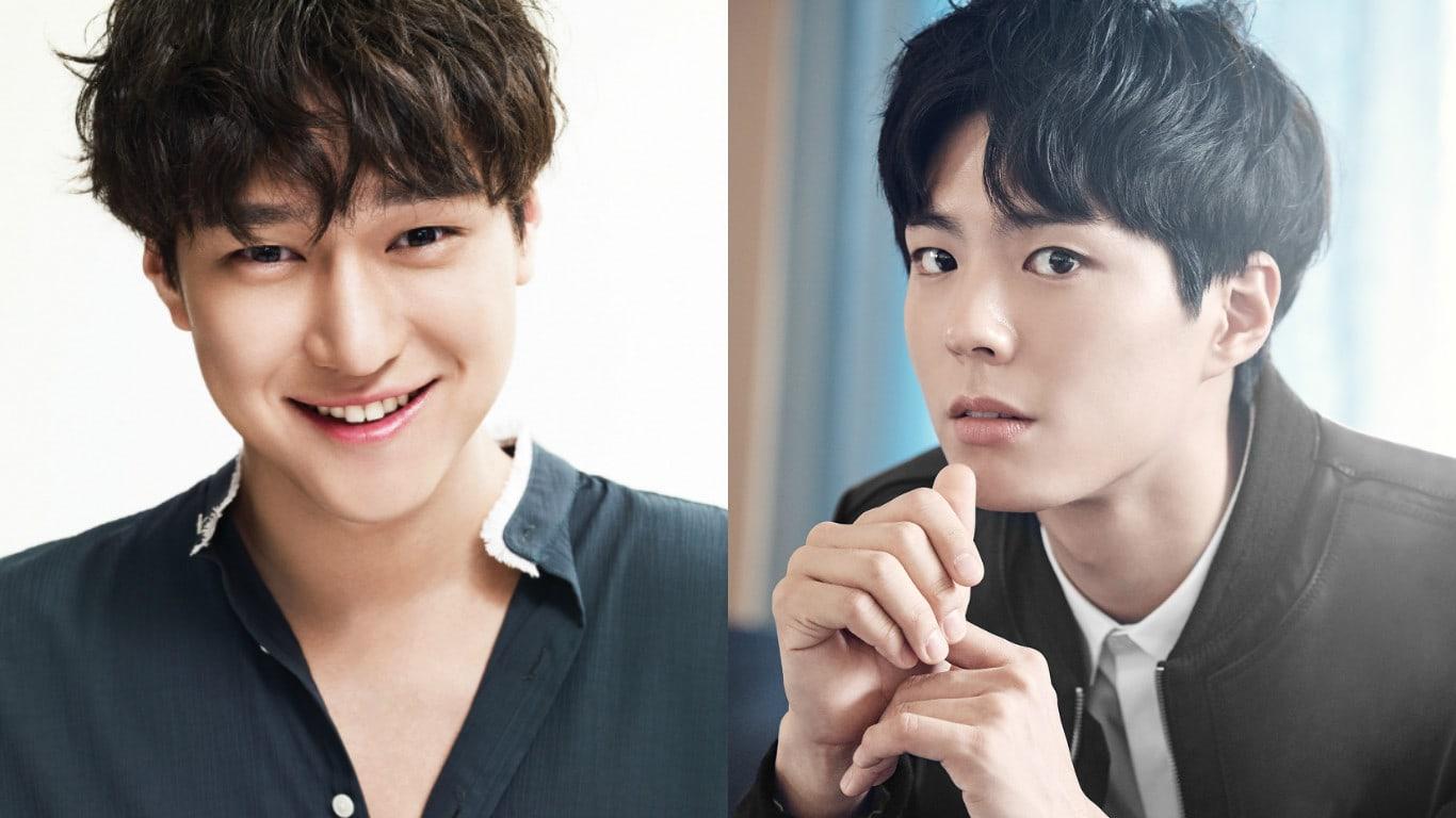 """Park Bo Gum envía a su buen amigo Go Kyung Pyo un regalo para mostrar su apoyo por """"Chicago Typewriter"""""""