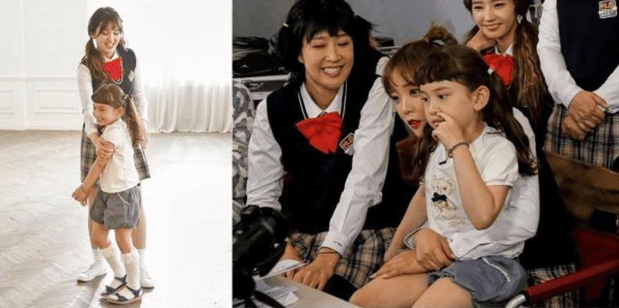 """La hermana pequeña de Jeon Somi se convierte en una linda directora de videos musicales para """"Sister's Slam Dunk Season 2"""""""
