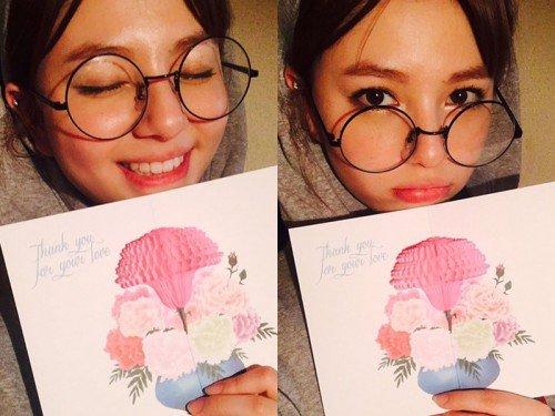 """Shannon agradece a los jueces de """"K-Pop Star"""" en el día del maestro"""