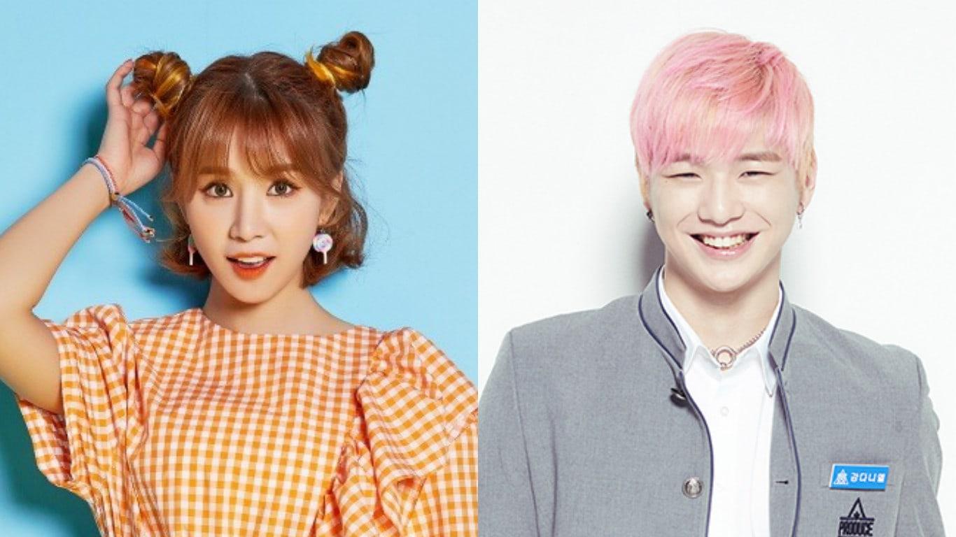 """Cao Lu de FIESTAR muestra apoyo por Kang Daniel de """"Produce 101 Season 2"""" quien fue su bailarín de apoyo"""