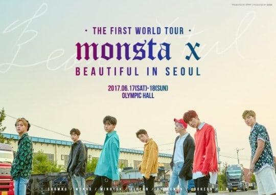 La parada en Seúl de la gira mundial de MONSTA X vende todas sus localidades en un minuto