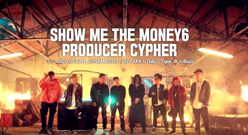 """Los productores de """"Show Me The Money 6"""" escupen fuego en sus letras para el Cypher de introducción"""