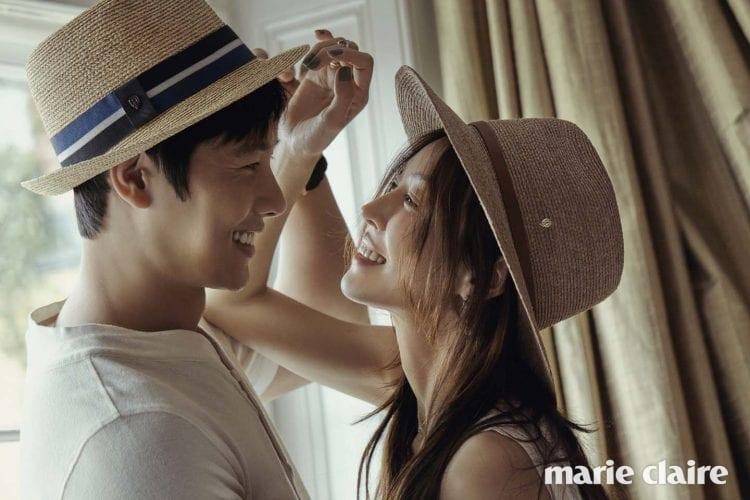 Los novios Kim So Yeon y Lee Sang Woo son la definición de elegancia en sesión inspirada en el matrimonio