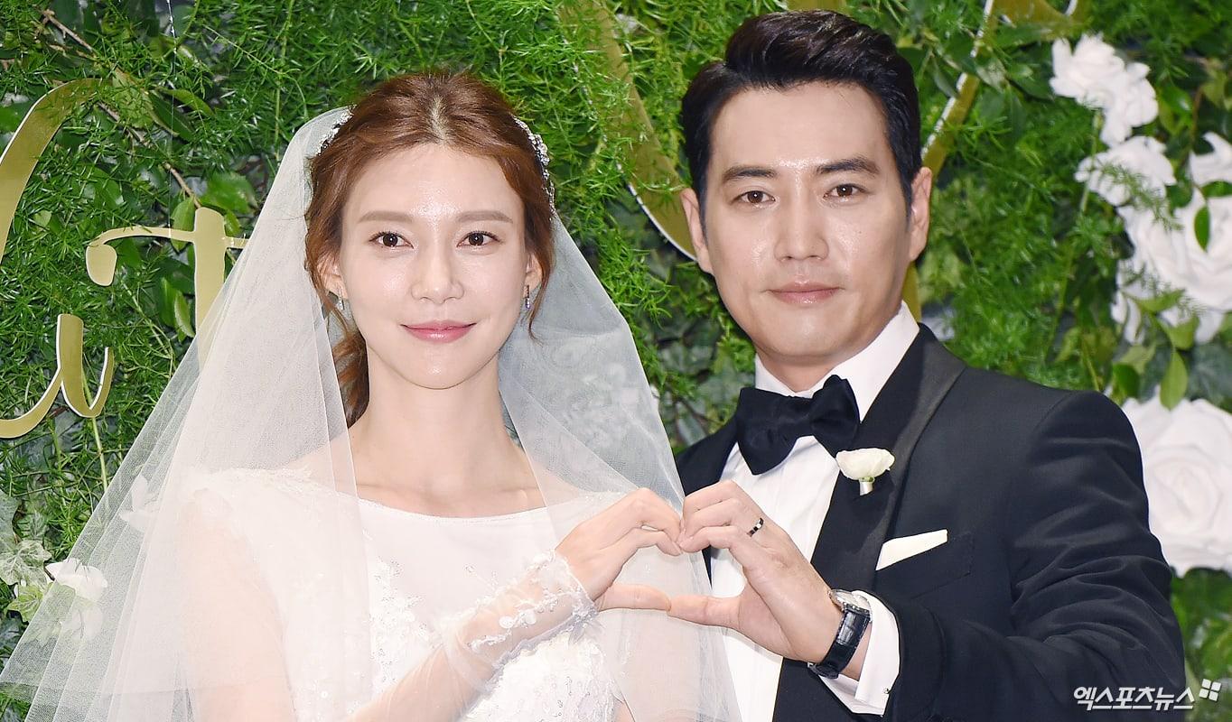 Cha Ye Ryun y Joo Sang Wook se han casado hoy