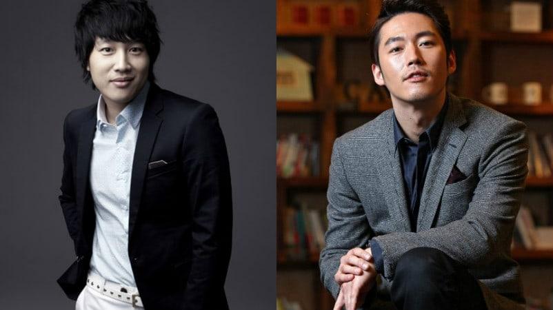 """Los buenos amigos, Jang Hyuk y Cha Tae Hyun, se encuentran en el set de """"Greatest One-Shot"""" como actor y director"""