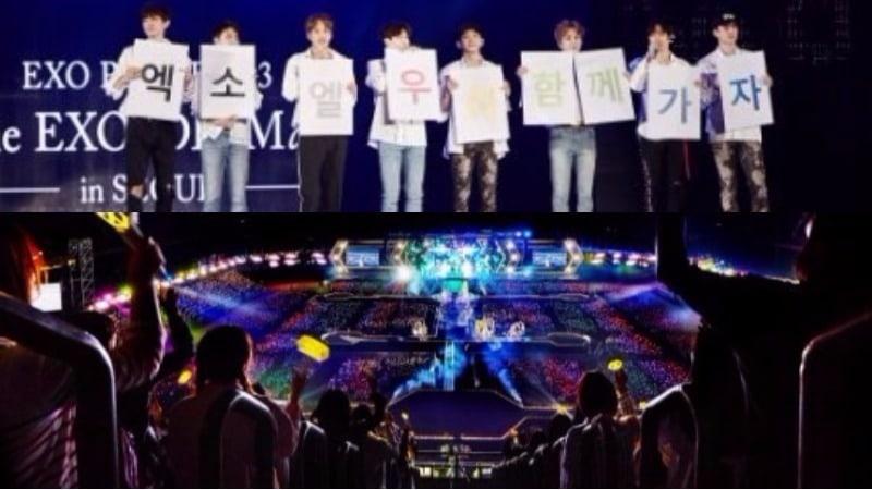 Los miembros de EXO comparte cómo se sienten luego de terminar su gira por lo alto en el estadio Jamshil