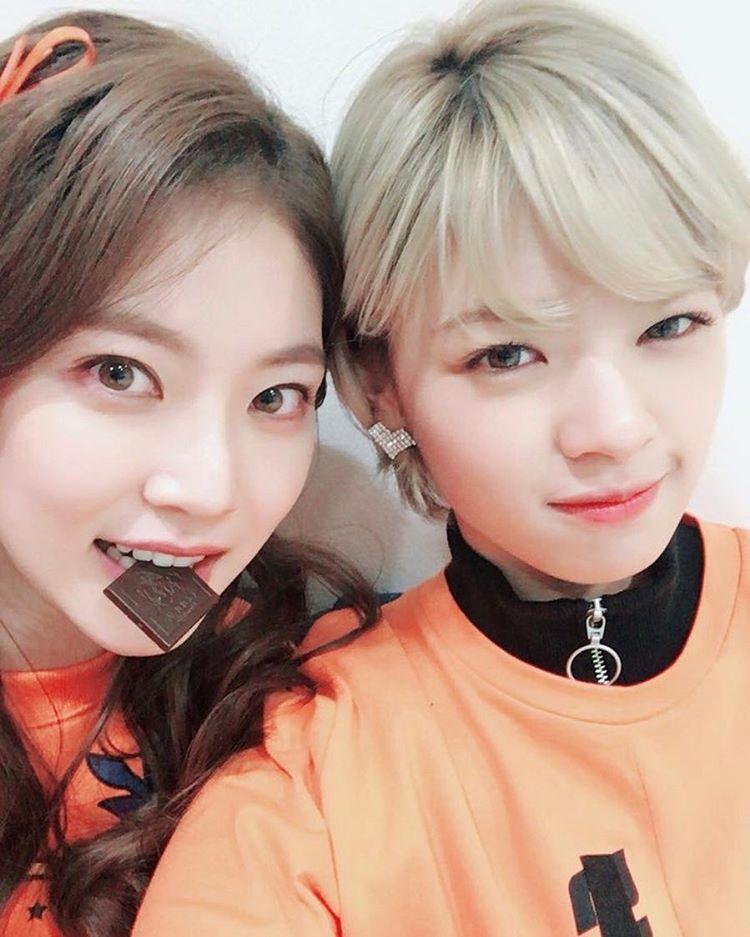 """Jungyeon de TWICE adorablemente anima a su hermana Gong Seung por su último drama """"Circle"""""""
