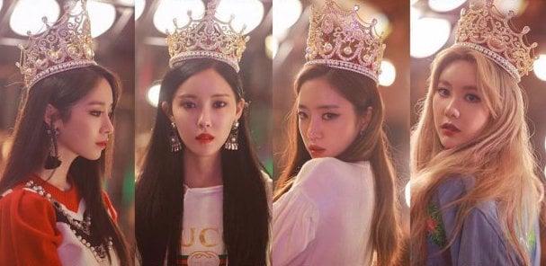 Las miembros de T-ara lucen como reinas en nueva foto teaser para su próximo regreso