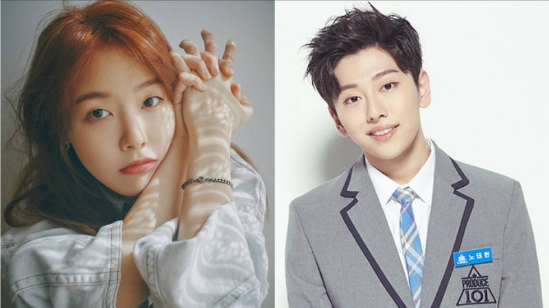 """Minah de Girl's Day muestra apoyo por el participante de """"Produce 101 Season 2"""", Noh Tae Hyun"""