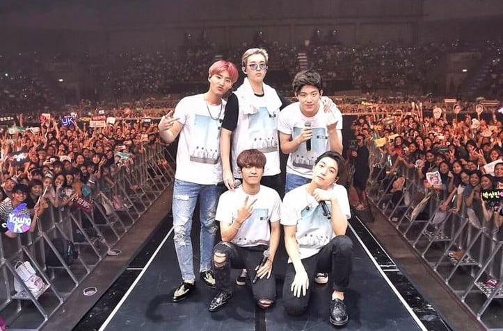 DAY6 pide a sus fans que voten para el nombre del fanclub oficial del grupo