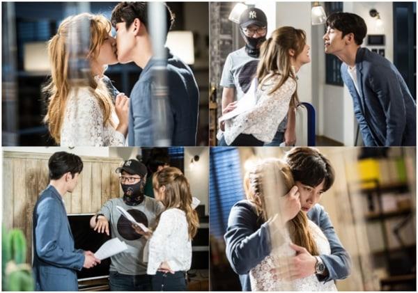 """Ji Chang Wook y Nam Ji Hyun se comportan de forma romántica y cómica durante la escena de beso de """"Suspicious Partner"""""""