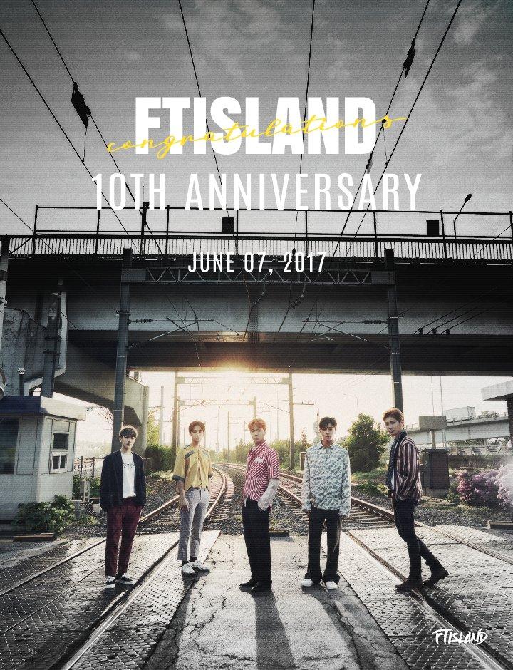 FTISLAND y sus fans celebran su décimo aniversario con lindos y sentidos mensajes