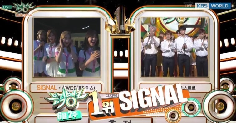 "TWICE consigue décima victoria para ""Signal"" en ""Music Bank"", actuaciones de DAY6, Highlight, FTISLAND y más"