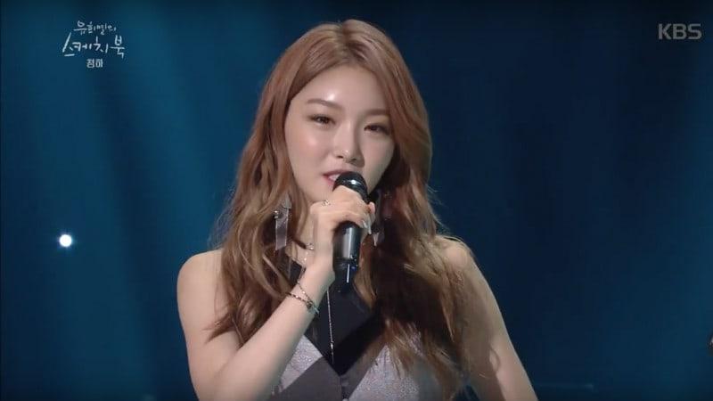 Kim Chungha habla de su pasado como bailarina de otros artistas