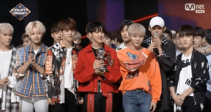 """SEVENTEEN se lleva su 6ta victoria con """"Don't Wanna Cry"""" en """"M!Countdown""""; presentaciones de NCT 127, T-ara, PENTAGON y más"""