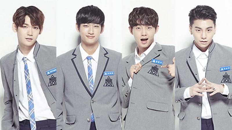 """Los fans crean una versión masculina de I.B.I con los ex aprendices de """"Produce 101 Season 2"""""""
