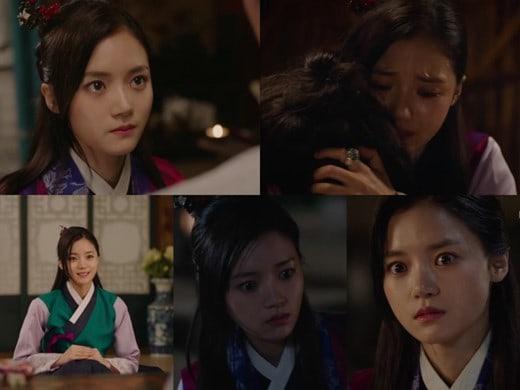 """La actriz Go Bo Gyeol de """"Goblin"""" hace una impactante entrada en """"Queen For 7 Days"""""""