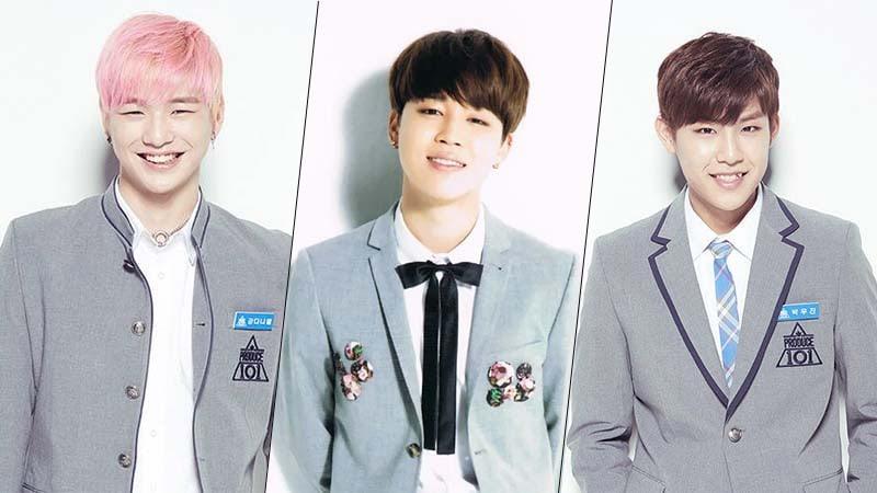 Jimin de BTS, Kang Daniel de Produce 101 y Park Woojin participaron en la misma competición de baile