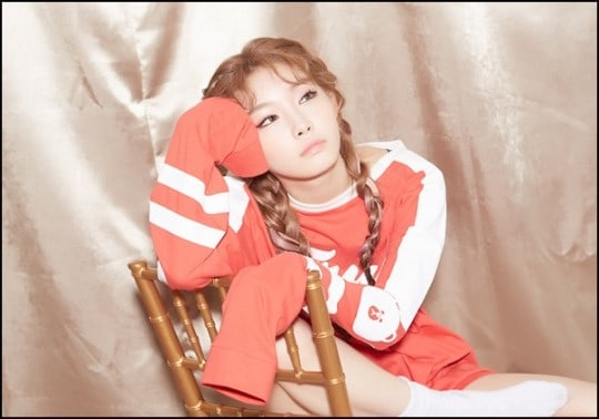 Kim Chungha comparte un pequeño deseo para I.O.I y Wanna One