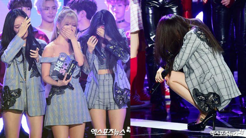 """T-ara estalla en lágrimas luego de su primera victoria en cinco años en """"The Show"""", presentaciones de FTISLAND, 9MUSES y más"""