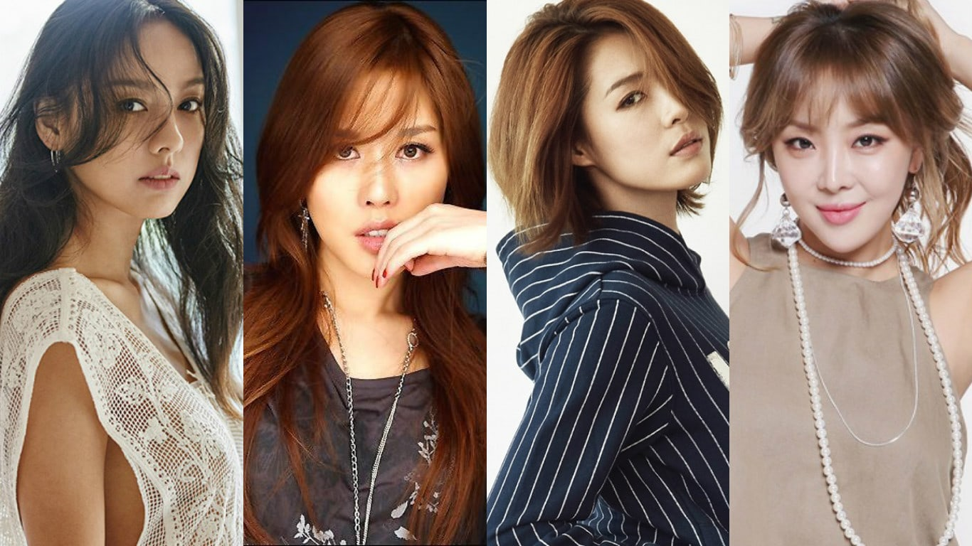 "Lee Hyori >> Album ""Black"" Lee-Hyori-Chae-Rina-Kahi-Brown-Eyed-Girls-Narsha"