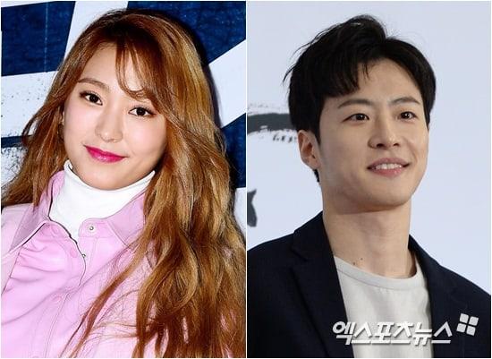 [Último minuto] Se confirma que la ex miembro de SISTAR, Bora, y Feeldog de BIGSTAR están en una relación