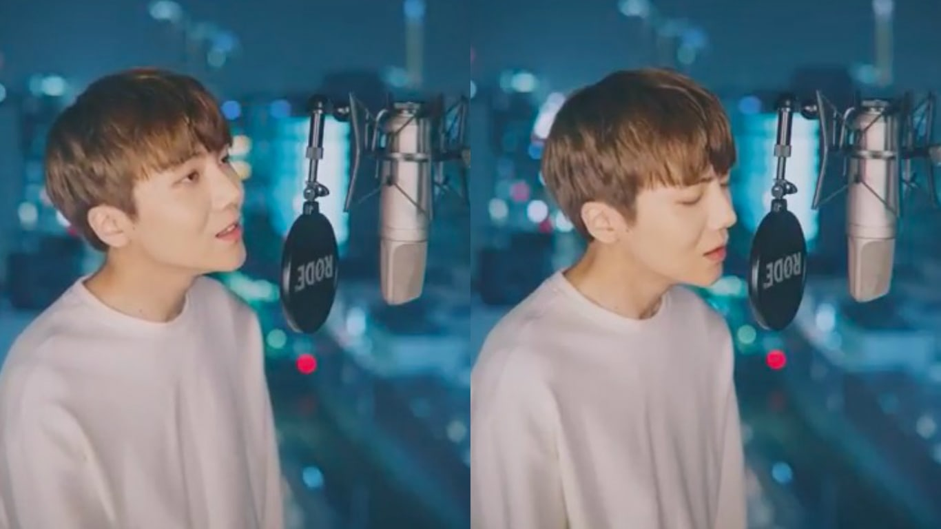 "Jinho de PENTAGON canta un hermoso cover de la famosa balada de Park Hyo Shin, ""Wild Flower"""