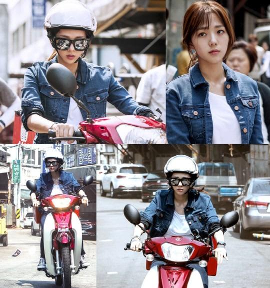 """Chae Soo Bin es una """"Girl Crush"""" en nuevas imágenes para """"Best Delivery Person"""""""
