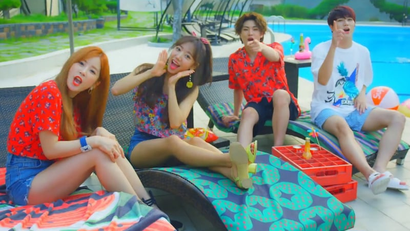 [Actualizado] Apink, VICTON y Huh Gak aparecen en video teaser para la canción de verano de Plan A