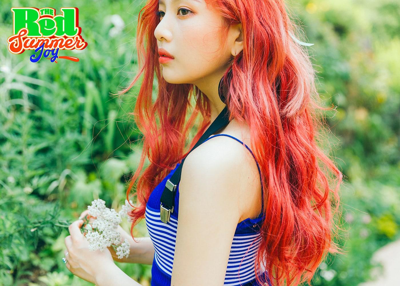 """Red Velvet comparte fotos teaser de Joy por su regreso con """"The Red Summer"""""""