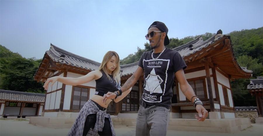 "Gong Minzy publica vídeo de baile completo de ""Ninano"" con Marquese Scott"