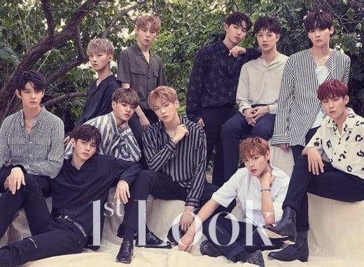 Wanna One muestra una imagen nueva y madura en su primer reportaje de revista