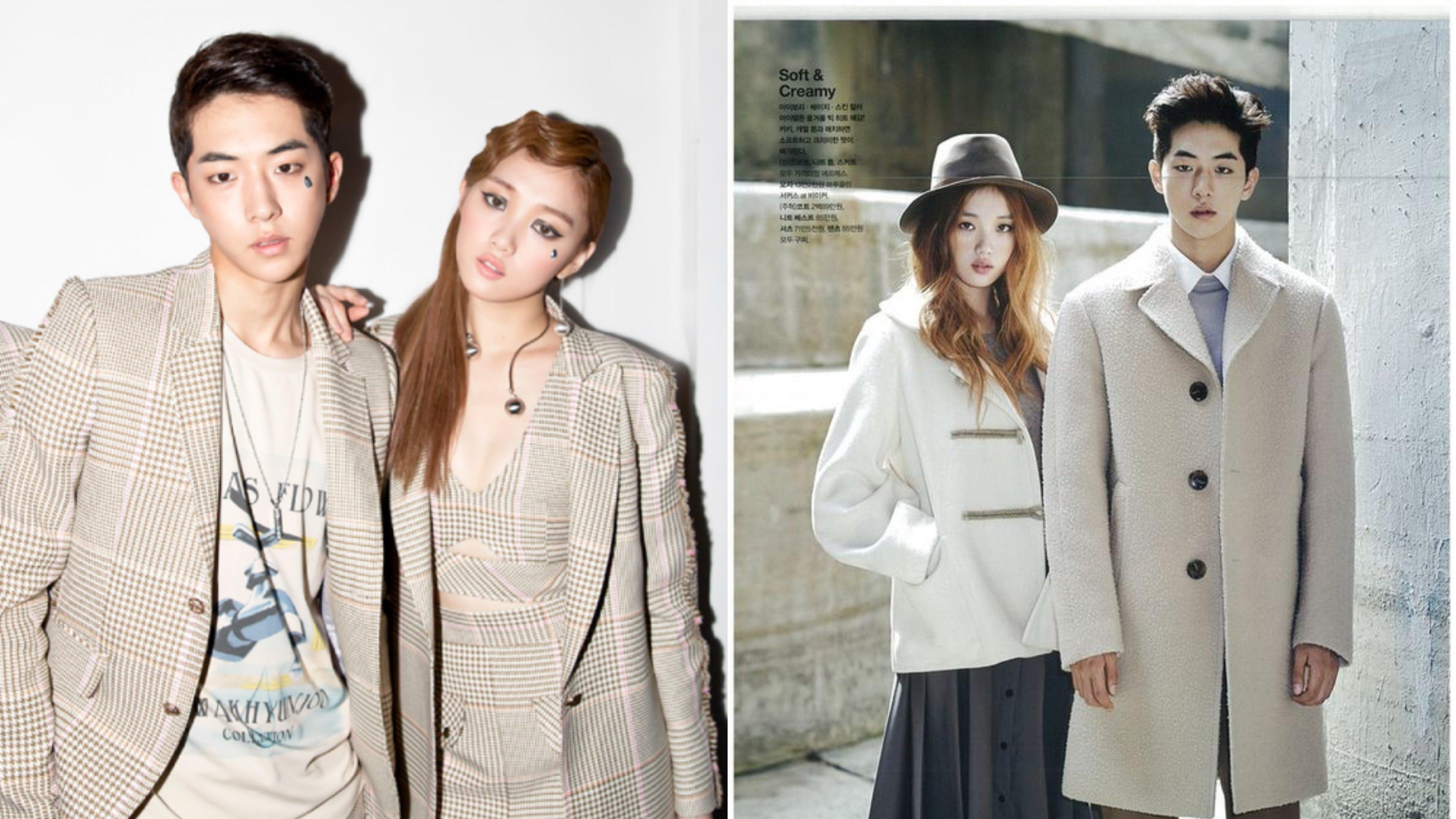 De compañeros de trabajo a una pareja: Los mejores momento de Lee Sung Kyung  y Nam Joo Hyuk en el modelaje   Soompi