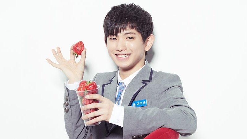 "Lee Eui Woong de ""Produce 101 Season 2"" revela qué idol le inspiró para rapear"