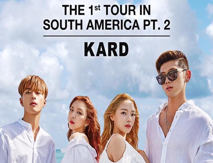 KARD anuncia conciertos en Argentina, Chile y Perú