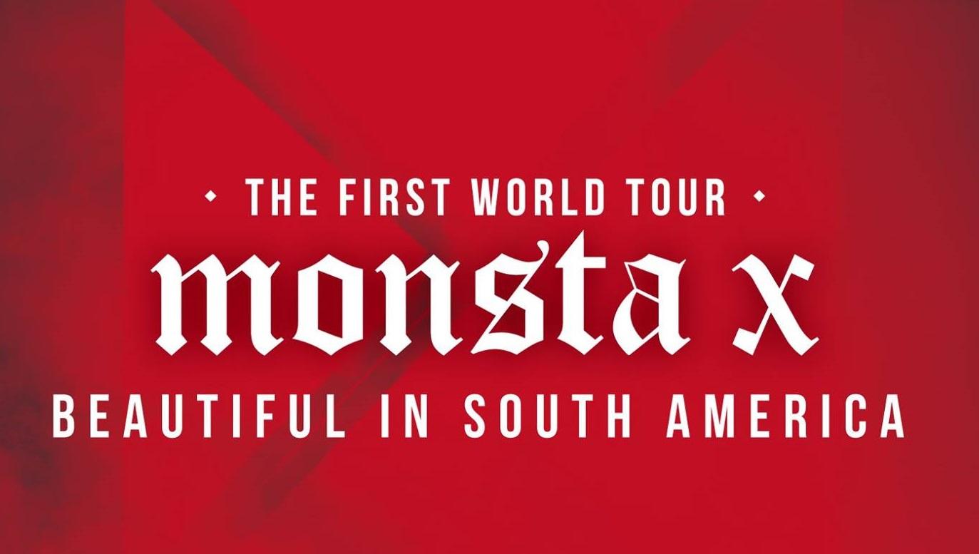 ¡MONSTA X anuncia primera gira en Latinoamérica!