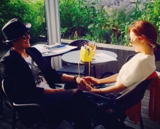 Park Soo Jin hace publicación en Instagram para celebrar su segundo aniversario de matrimonio con Bae Yong Joon