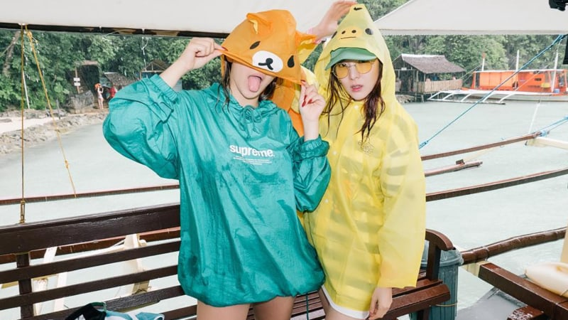 Sandara Park y CL revelan fotos de sus relajantes vacaciones en una isla
