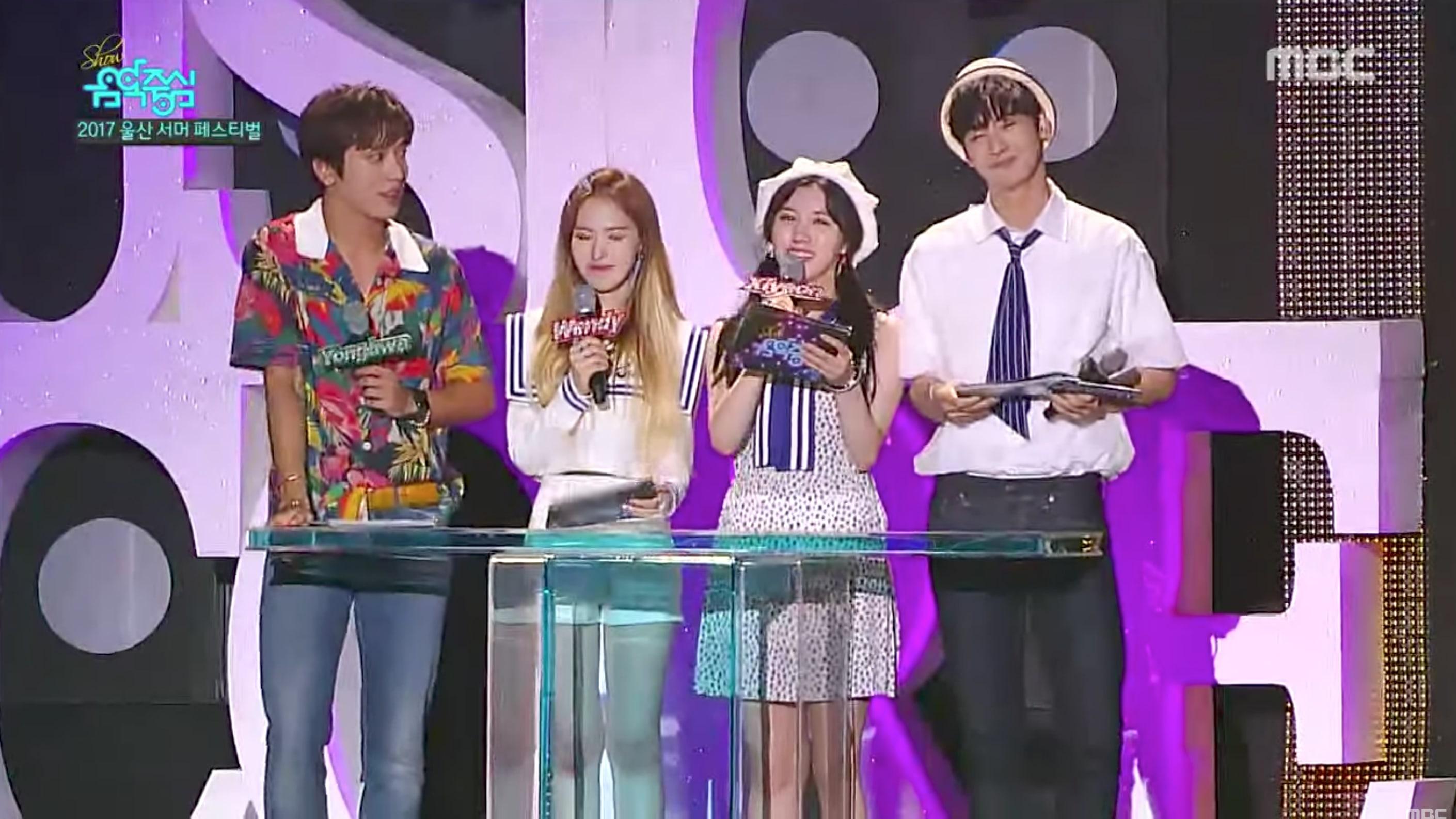 """EXO, BLACKPINK, Red Velvet y más actúan en el episodio """"Summer Festival"""" de """"Music Core"""""""