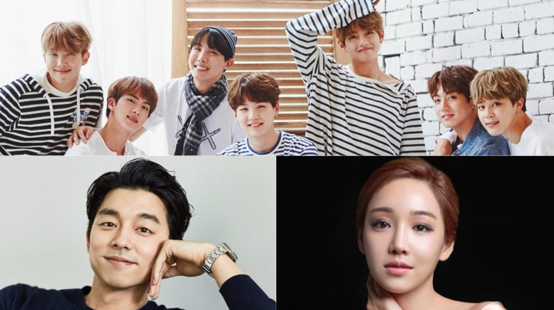 """BTS, Gong Yoo, Lee Yoo Ri, y más obtienen reconocimiento en los """"2017 Brand Of The Year Awards"""""""
