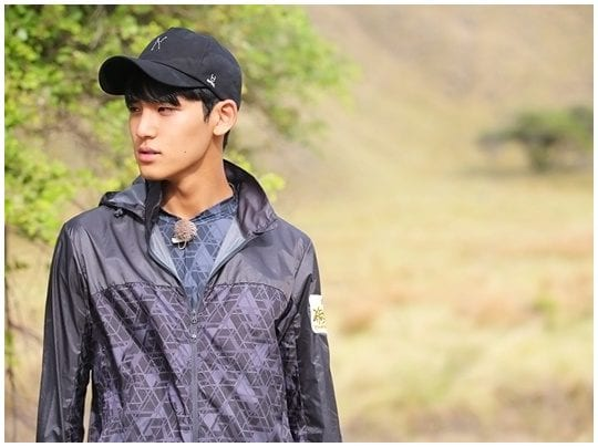 "Mingyu de SEVENTEEN aterrorizado por dragones de Komodo en ""Law Of The Jungle"""