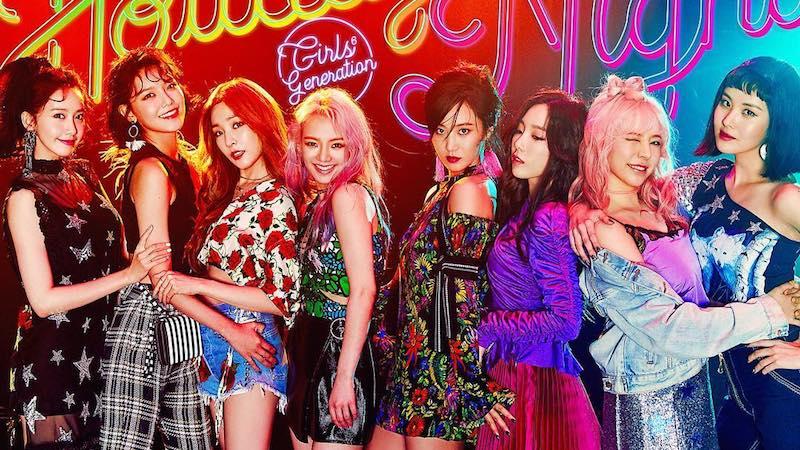 "Girls' Generation encabeza numerosas listas a nivel mundial con ""Holiday Night"""