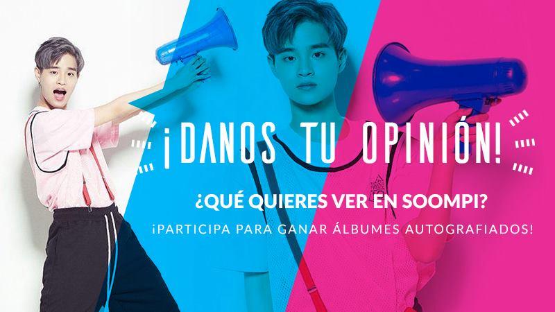 Sorteo: ¡Dinos que piensas de Soompi Spanish y gana material autografiado de BTS, PENTAGON y más!